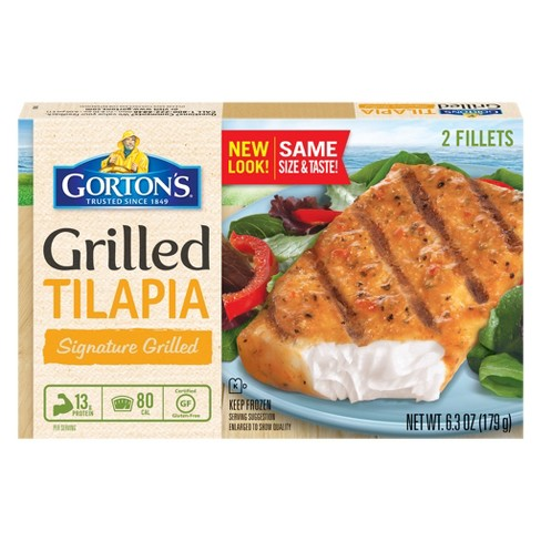 Gorton's® Signature Grilled Tilapia - 2ct - image 1 of 1