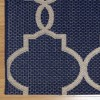 Loire Outdoor Rug Navy - Studio by Brown Jordan - image 2 of 3