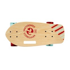 "Kryptonics 19"" Stubby Skateboard, Kids Unisex"
