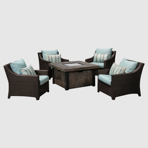 Deco 5pc Fire Chat Set -  RST Brands   - image 1 of 4