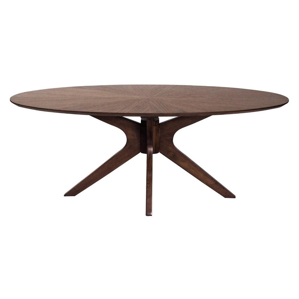 Clifford Coffee Table - Walnut (Brown) - Aeon