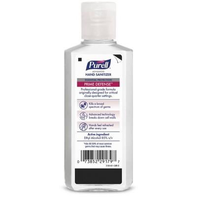 Purell Prime Defense Hand Sanitizer - 4 fl oz
