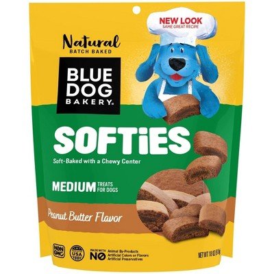 Blue Dog Bakery Peanut Butter Softies Chewy Dog Treats Dog Treats - 18oz