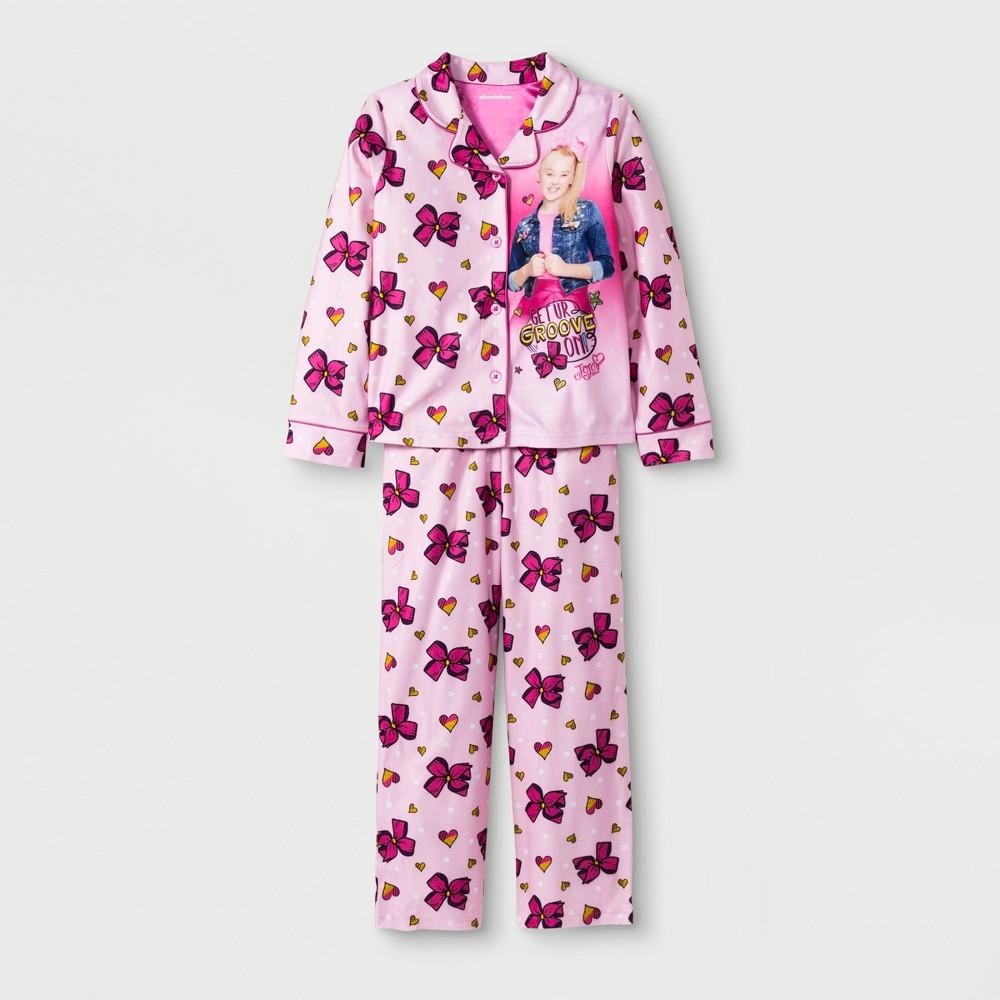 Girls' JoJo Siwa 2pc Pajama Set - Pink 6