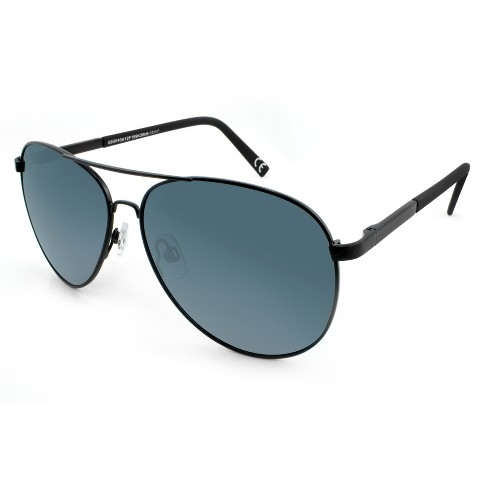 Men s Polarized Aviator Sunglasses - Goodfellow   Co™   Target 9fad0ad8ca8