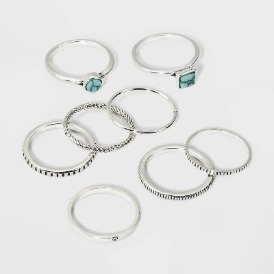 Stone Multi Ring - Universal Thread™ Silver