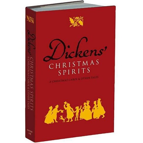 Dickens' Christmas Spirits - by  Charles Dickens (Hardcover) - image 1 of 1