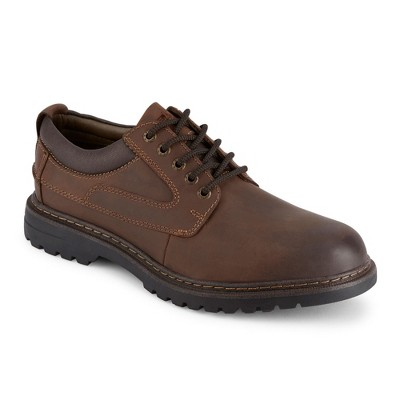 Dockers Mens Warden Leather Rugged Casual Oxford Shoe with NeverWet