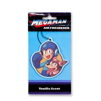 Just Funky Mega Man and Rush Air Freshener | Vanilla Scented | Mega Man Legacy Collection