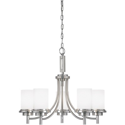 "Sea Gull Lighting Winnetka 5-Light 25"" Chandelier, Brushed Nickel 31661-962"