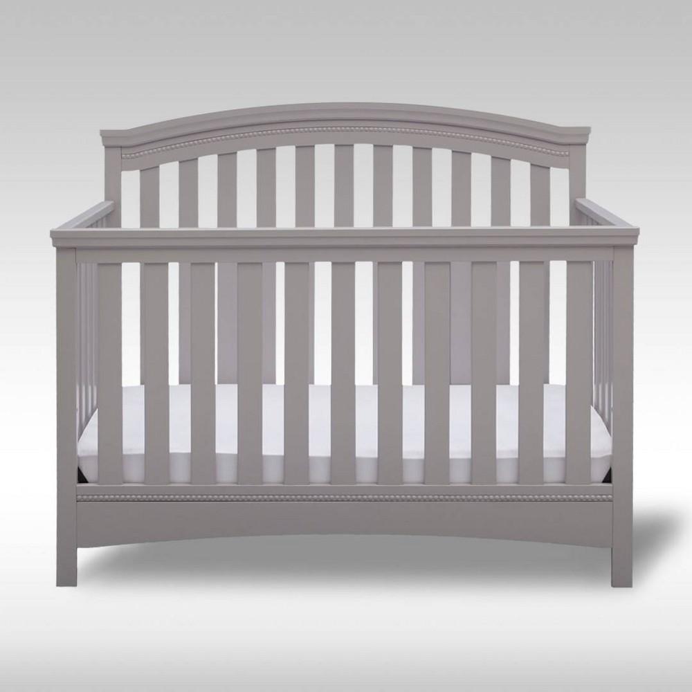 Discounts Delta Children Emerson 4-in-1 Convertible Crib -Gray