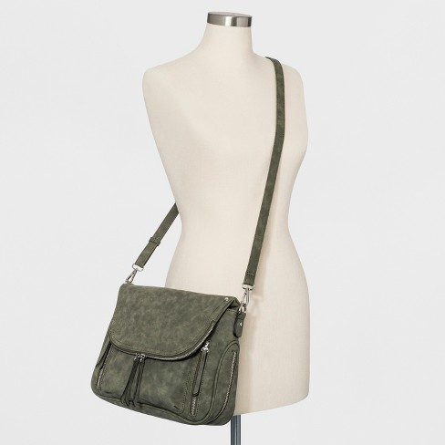 e3351c7772 VR NYC Crossbody Bag With Pockets - Olive Tree. Shop all Violet Ray