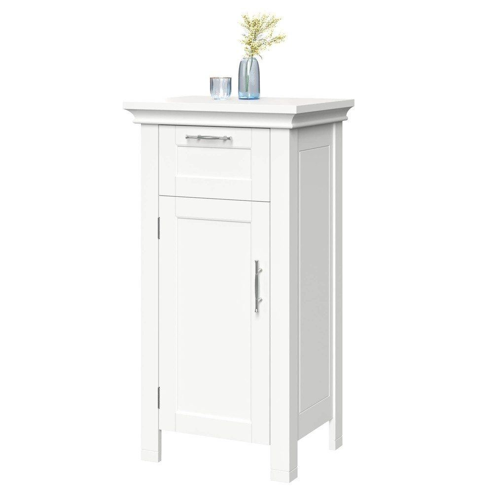Image of Bathroom Storage Cabinet White