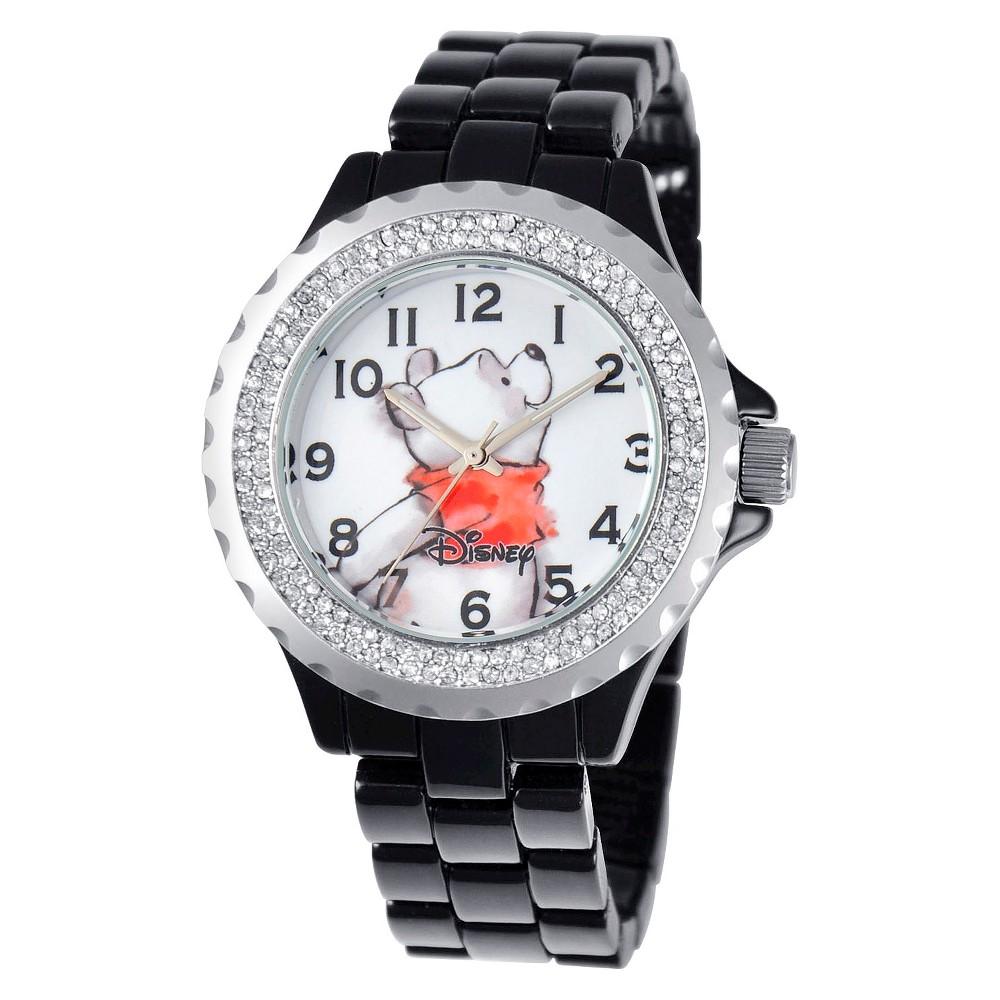 Women 39 Diney Winnie Enamel parkle Watch