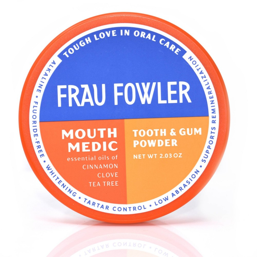 Image of Frau Flower Mouth Medic Tooth & Gum Powder - 2.3oz