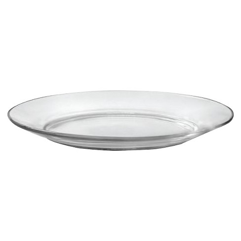 """Duralex - Lys Glass Salad Plate 7.5""""x7.5"""" Set of 4 - image 1 of 4"""