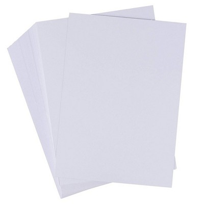 """200-Pack Heavyweight White Cardstock, 110lb 300GSM Index Card Flash Note 5"""" x 7"""""""
