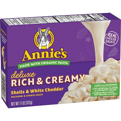 Annie's Deluxe White Cheddar Mac and Cheese - 11oz