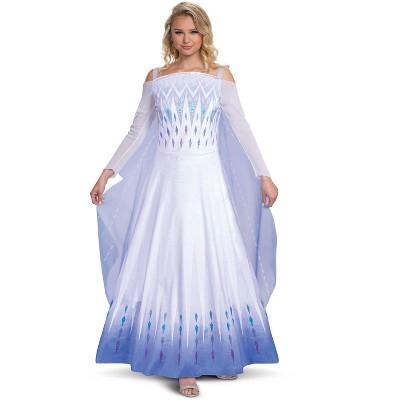 Frozen Snow Queen Elsa Prestige Adult Costume