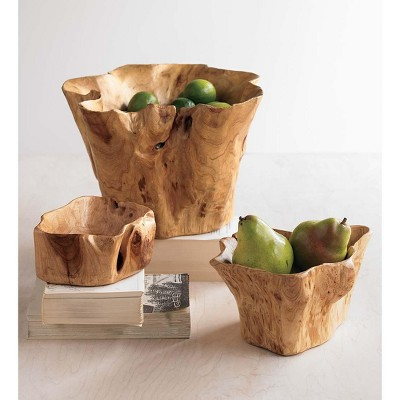 VivaTerra Root Of The Earth Bowls- Set of 3
