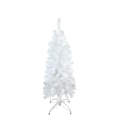 Northlight 4.5' Pencil White Winston Pine Artificial Christmas Tree - Unlit