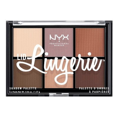 Eyeshadow: NYX Professional Makeup Lid Lingerie Palette