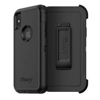 OtterBox Apple iPhone X/XS Defender Case - Black
