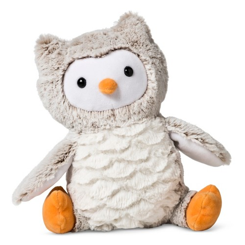 Plush Owl - Cloud Island Light Brown