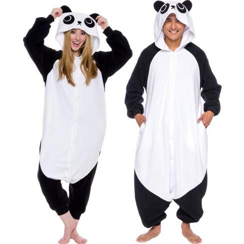 FUNZIEZ! - Panda Adult Unisex Novelty Union Suit - image 1 of 4