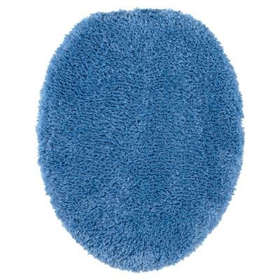 Luxury Solid Toilet Lid Cover Universal Kettle Blue - Fieldcrest®
