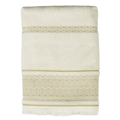 Saturday Knight Ltd Elephant Walk High Quality & Ultra-Durable Bath Towel For Everyday Use 24x48-in, Natural