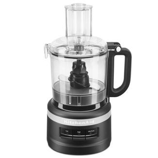 KitchenAid 7 Cup Food Processor - Black KFP0718BM