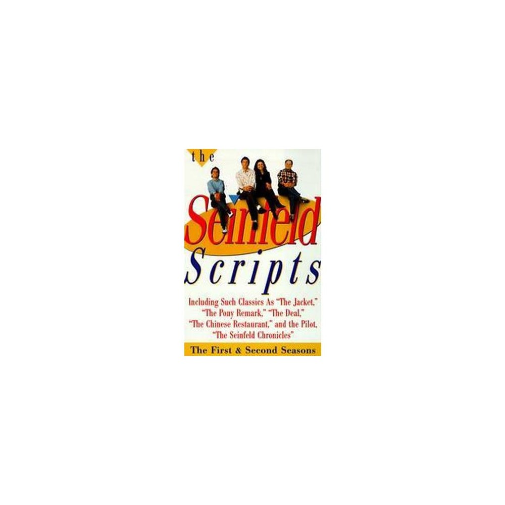 Seinfeld Scripts : The First and Second Seasons (Paperback) (Jerry Seinfeld)