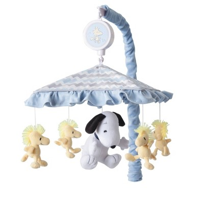 Lambs & Ivy Disney Baby Musical Baby Crib Mobile - My Little Snoopy