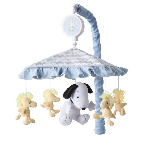 Lambs & Ivy Disney Baby Musical Baby Crib Mobile - My Little Snoopy - image 1 of 3