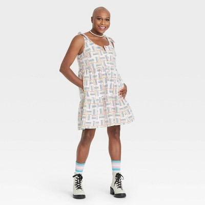 Pride Gender Inclusive Adult Dress - White
