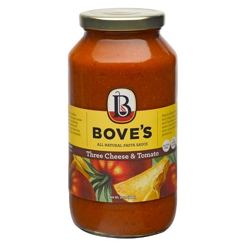 Bove's Three Cheese & Tomato Sauce 24 oz - image 1 of 1