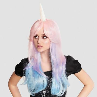 Adult Pastel Unicorn Halloween Wig - Hyde & EEK! Boutique™