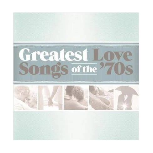 Various - Greatest Love Songs Of The 70s (CD) - image 1 of 1