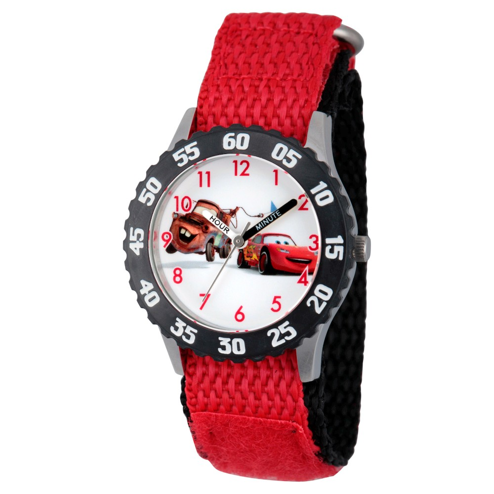Boys' Disney Cars Lightning McQueen Watches Red, Boy's