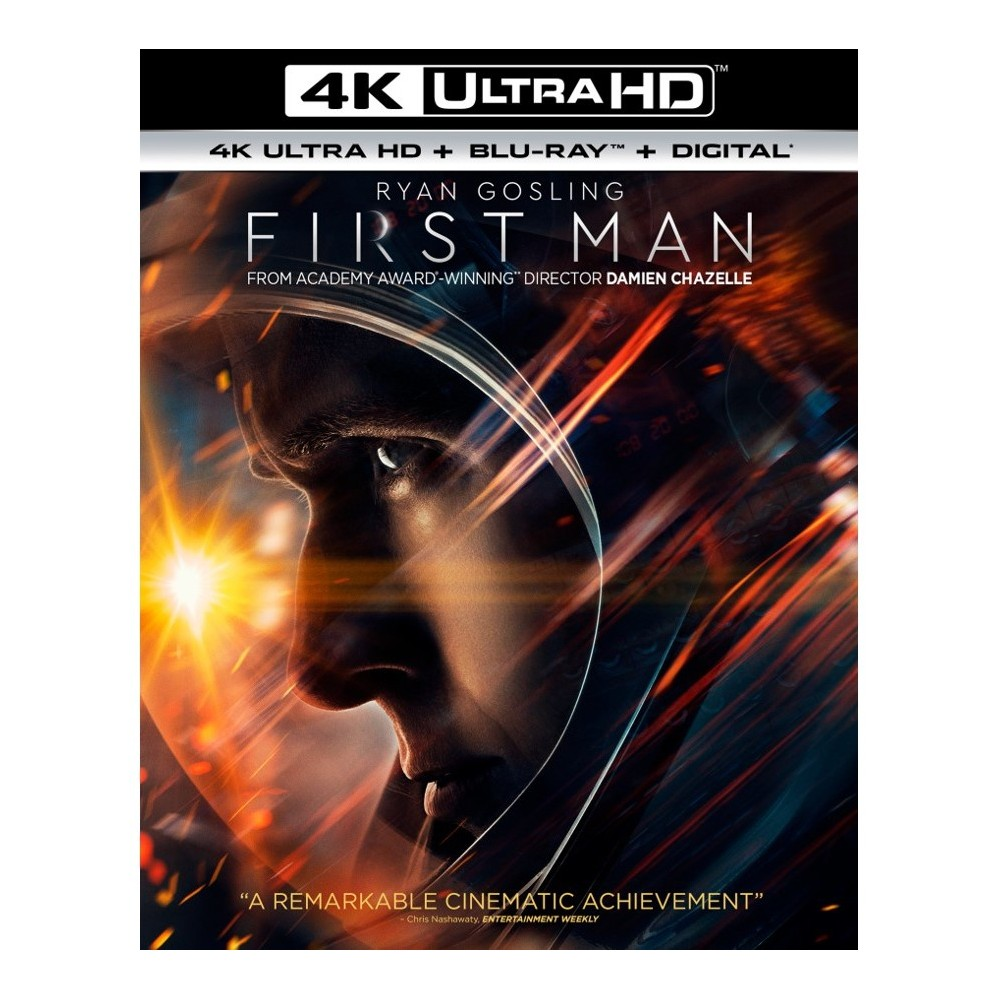 First Man (4K/UHD) Movies Top