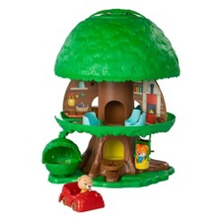 Fat Brain Toys Timber Tots Tree House Early Learning Playset