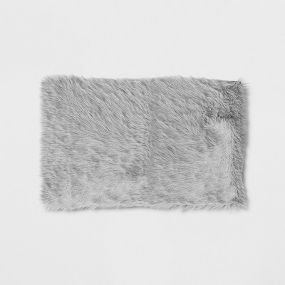 2'6 X4'/30 X48  Solid Doormat Gray - Project 62™