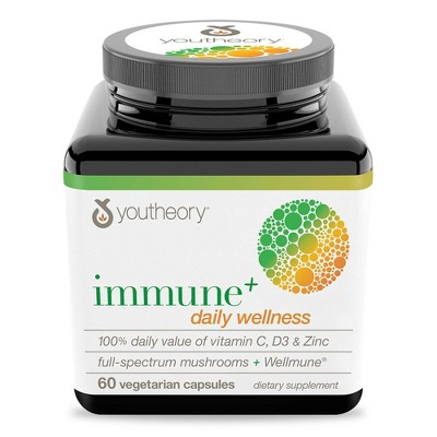 Youtheory Immune + Daily Wellness Capsule - 60ct