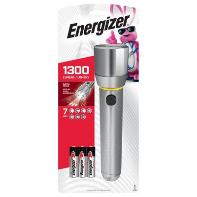 Energizer Vision HD 6AA Performance Metal LED FlashLight