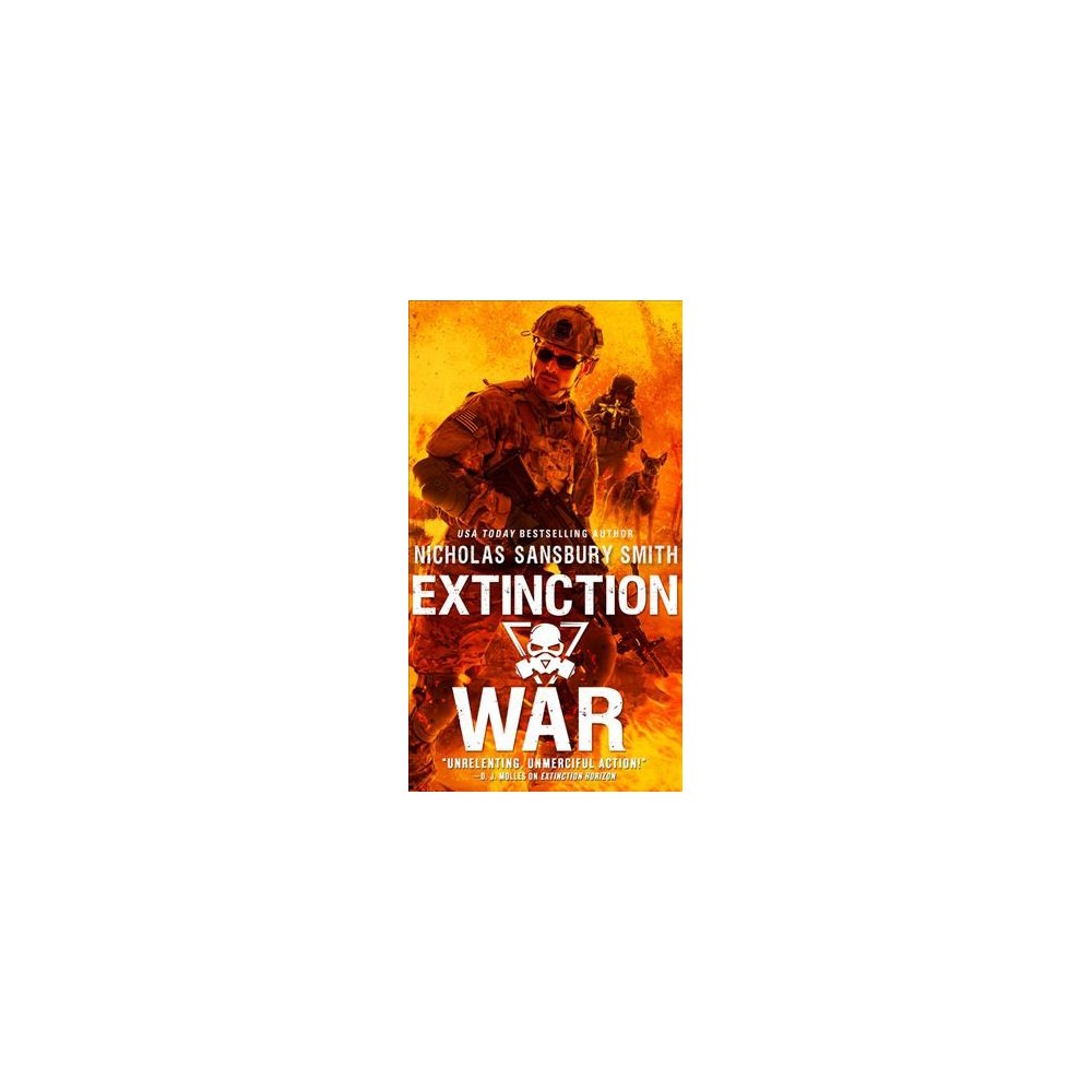 Extinction War - (The Extinction Cycle) by Nicholas Sansbury Smith (Paperback)