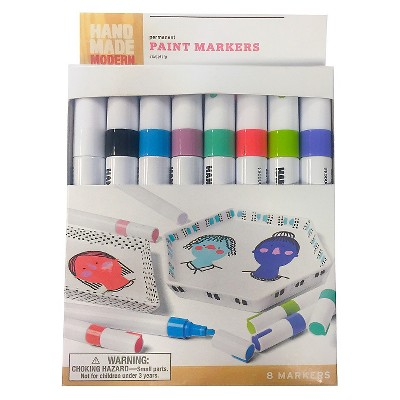 8pk Paint Markers - Hand Made Modern®