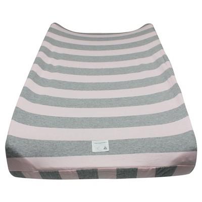Burt's Bees Baby® Organic Changing Pad Cover - Stripe - Blossom