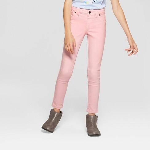 2933333e3200f Girls' Jeggings - Cat & Jack™ Pink Rose : Target