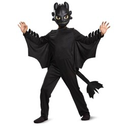 Boys' How To Train Your Dragon Toothless Classic Halloween Costume